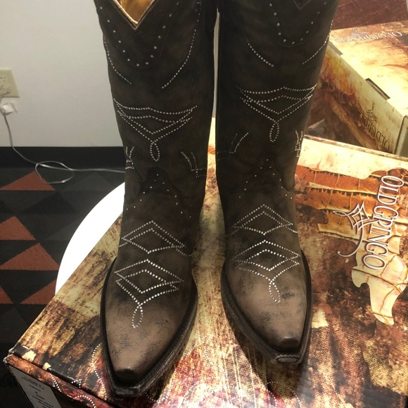 08f297ccbd9 Flash saleOLD GRINGO LEATHER BOOTS NIB 7.5 NWT